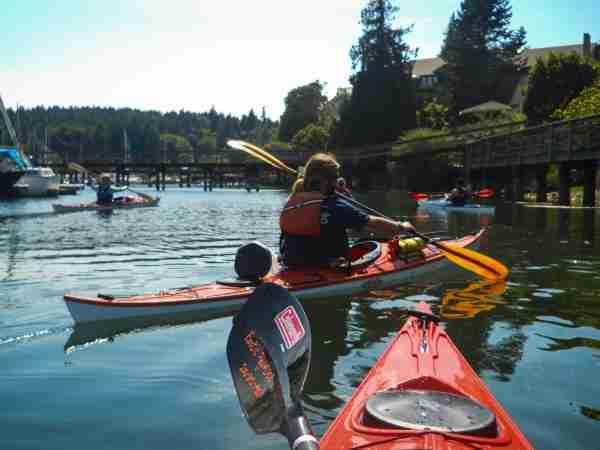 Kayaking in Eagle Harbor