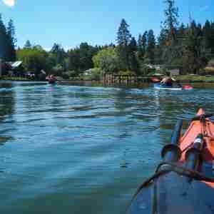 Kayaking in Eagle Harbor