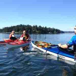 Paddling Skills in Manzanita Bay