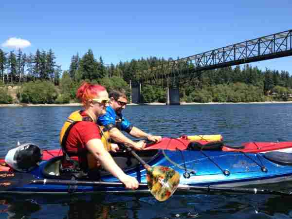 Kayak Rescue and Reentry
