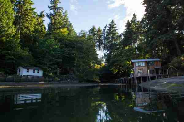 Secluded houses in Eagle Harbor