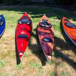 A selection of Exotic Aquatics Kayaks