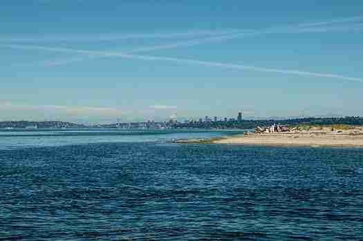 Blake Island Seattle View