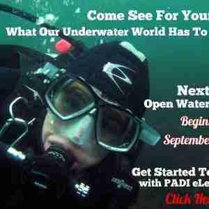 The September Open Water class begins soon.