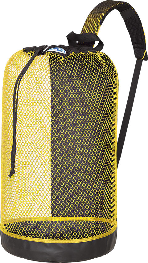 BVI Mesh Backpack Yellow
