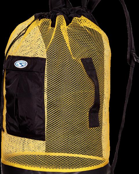 Panama Mesh Backpack Yellow