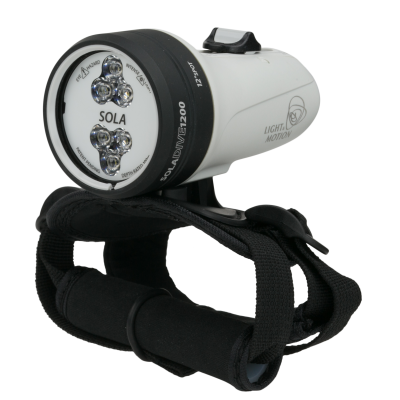 Light & Motion Sola 1200 Spot dive light