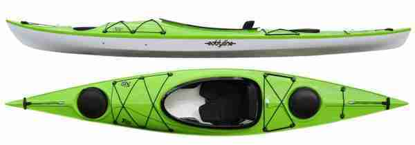 Eddyline Rio Recreational Kayak Lime