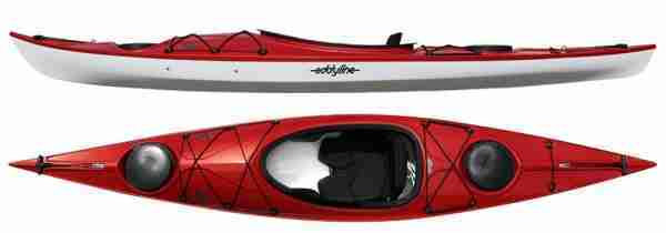 Eddyline Rio Recreational Kayak Red