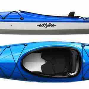 Eddyline Rio Recreational Kayak Blue