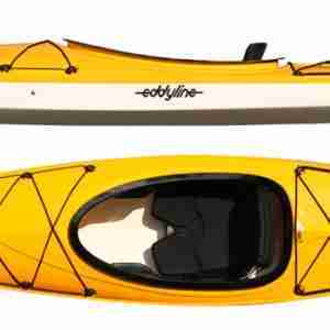 Eddyline Rio Recreational Kayak Yellow