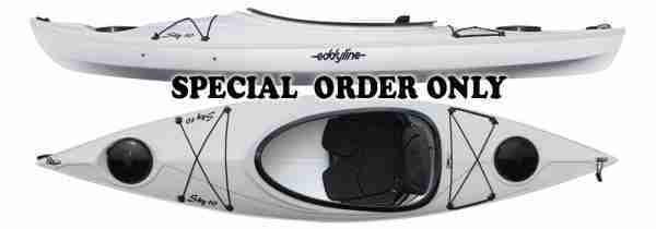 Eddyline Sky 10 Kayak White