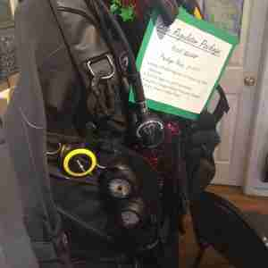 Elite SCUBA Regulator Package