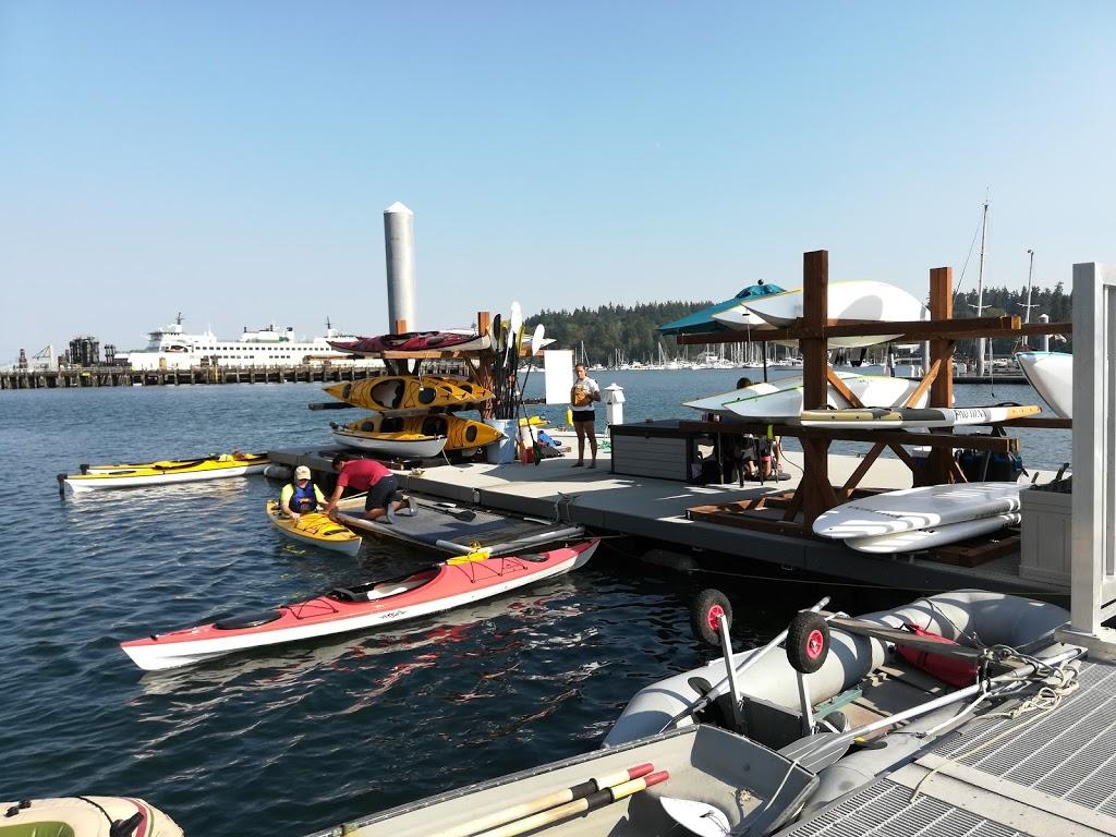 Kayak Dock in the Sun